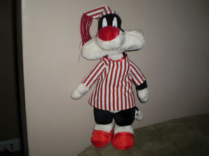 LOONEY TUNE SYLVESTER THE CAT STUFFIE