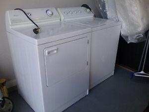 Excellent working conditions  washer and dryer