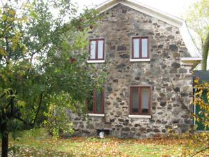 Maison ancestrale en pierre des champs,situé a la campagne