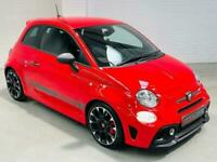 ABARTH 595 COMPETIZIONE 2017 1.4 TURBO 180 RED PETROL MANUAL FIAT 500