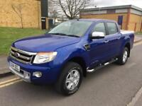 2014 Ford Ranger 3.2 TDCi Limited Double Cab Pickup 4x4 4dr EU5 Manual Pickup