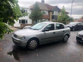 Vauxhall Astra 1.6 petrol manual 5 door Silver. LPG. Charity Sale !