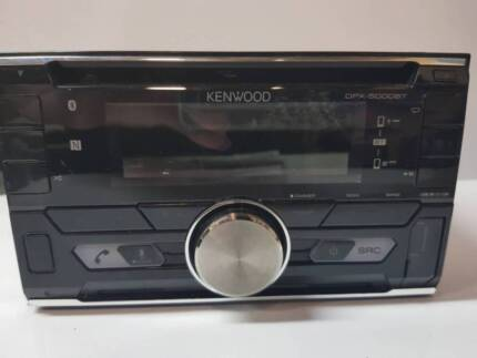 KENWOOD DOUBLE-DIN CAR STEREO