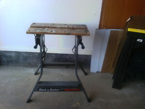 Foldable workmate London Ontario image 1