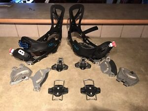 Karakoram Splitboard bindings size medium including crampons
