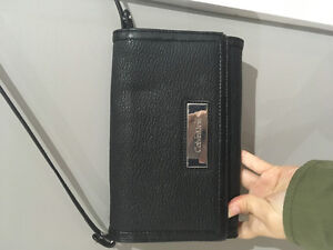 Calvin Klein black Crossbody purse