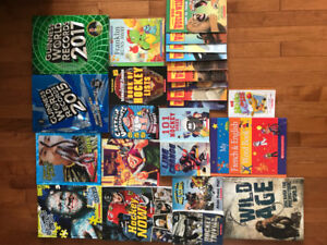 Variety of youth books