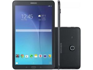 "Open Box Samsung Galaxy Tab E 9.6"" 16 GB Black Android Tablet"