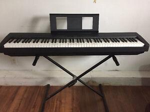 Yamaha P-45 full lengh piano (nouveau prix)