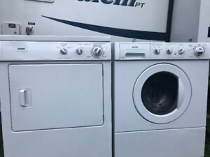 KENMORE FULL SIZE FRONTLOAD stacker washer & dryer