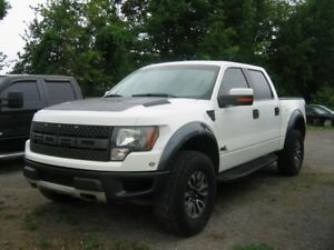 2012 Ford F-150 SVT Raptor SuperCrew 4x4 6.2L