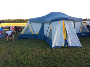 Camping Cabin Tent (4 room)