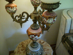 Table Lamps   Old World 4-Globe Lamp