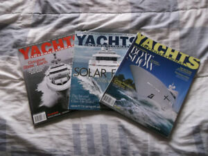 Magazines de bateau YACHT INTERNATIONAL