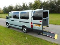2010 Renault Master 2.5 Dci WHEELCHAIR ACCESSIBLE DISABLED ADAPTED VEHICLE WAV