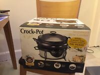 Crockpot Stoneware Slow Cooker as new