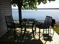 Rare 3 bedroom waterfront Mississippi Lake, McCrearys Beach.