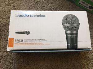 Pro 31 audio technica audio mic