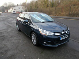 CITROEN C4 VTR + HDI DIESEL 5 DOOR 1 OWNER FSH £20 A YEAR RFL ALLOYS 2013-63