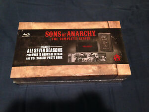 Sons of Anarchy Complete Series 1-7 Blu-Ray Reaper Set NEW