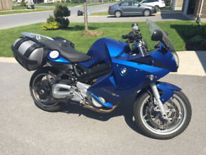 Motorcycle,  2007 BMW F800 ST