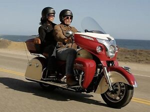 2016 Indian Roadmaster   Indian Motorcycle Red and Cream