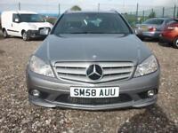 Mercedes C220 2.1 CDI SPORT, Estate ,FREE 15 MONTHS WARRANTY