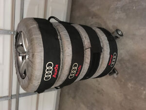 Audi OEM rims and tires