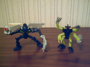 Lego: Bionicle: solid figures 14 lot - USED