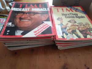 Time and mcleans magazines 40 plus