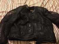 Rst motorbike leather