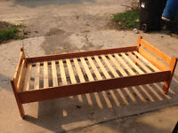 Solid Wood single child's bed