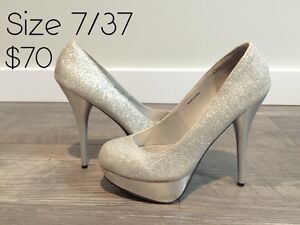 NEVER/GENTLY WORN size 6.5/7/7.5/8 heels and wedges