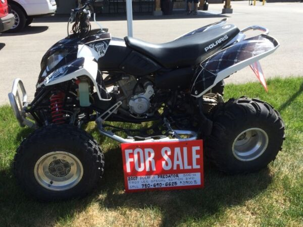 Used 2007 Polaris predator limited edition