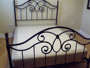 Queen size Beautyrest Box Spring / Frame / Head and Foot Board