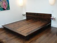 Rustic beds - free valuation and very good price. Solid wood