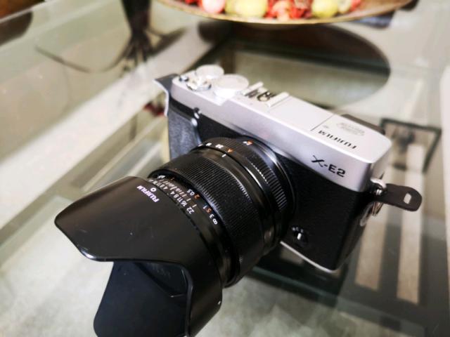 Fujifilm X-E2 and Fuji Fujinon 14mm f2 8 prime lens  | in Eastbourne, East  Sussex | Gumtree
