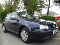 VOLKSWAGEN GOLF 1.6 2002 COMPLETE WITH M.O.T HPI CLEAR INC WARRANTY