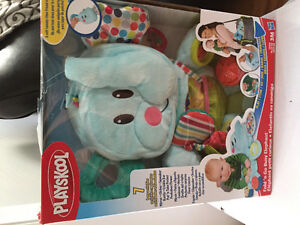 New! Playskool fold n go busy elephant activity mat Reduced!! Kitchener / Waterloo Kitchener Area image 1