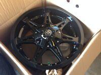 275/50R20 mayham rims+ tires
