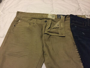 One pair of men's pants and 2 men's jeans