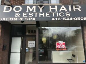 STORE FOR RENT- EXCELLENT LOCATON!! MT. PLEASANT & EGLINTON!!!