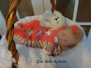 Bébé reborn , poupée de collection