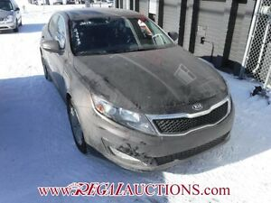 2013 KIA OPTIMA LX 4D SEDAN AT