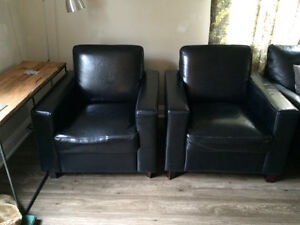 Leather chairs Cornwall Ontario image 1
