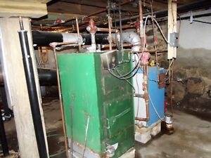 Oil fired and wood fired combo boilers 250.00 obo