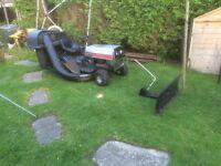 Mtd lawnflite 12.5 38 ride on lawn mower