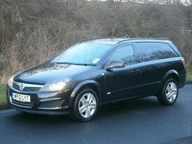 2012(12) Vauxhall Astravan Sportive 1.7CDTi 125bhp, MET BLACK, NO VAT TO PAY!!!