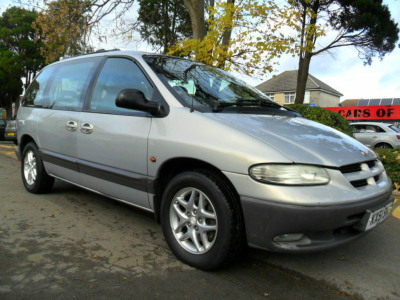Chrysler Voyager 2.5TD LE COMPLETE WITH M.O.T HPI CLEAR WARRANTY INCLUDED