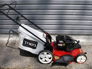 Toro self-propelled front drive